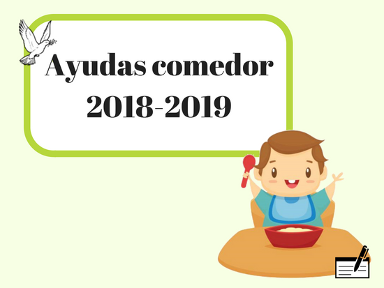 Convocatoria ayudas de comedor para el curso 2018-2019 | Guarderia ...